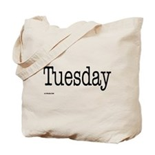 Tuesday - On a Tote Bag