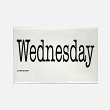 Wednesday - On a Rectangle Magnet