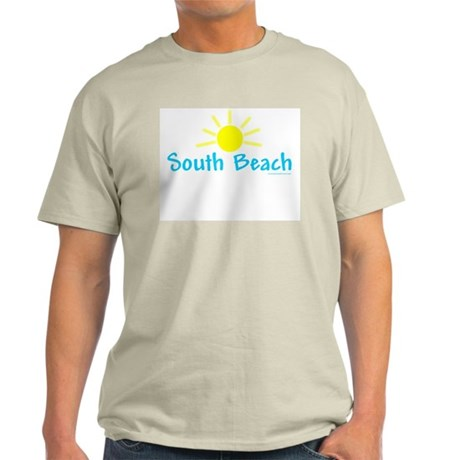 South Beach Sun - Ash Grey T-Shirt