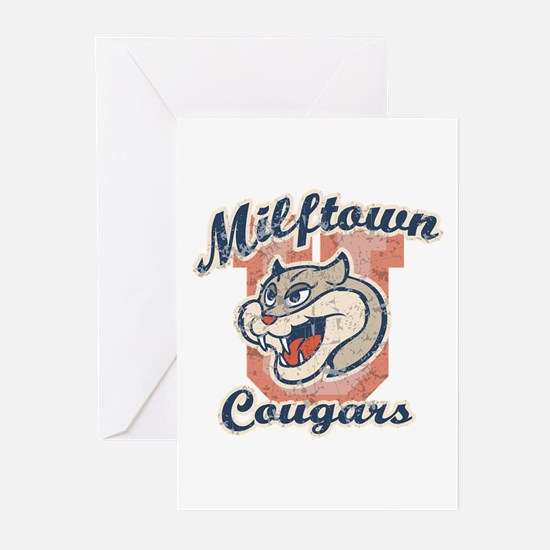 Milftown Cougars Greeting Cards (Pk of 10)