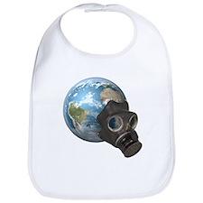 Gas Mask Earth Bib