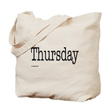 Thursday - On a Tote Bag