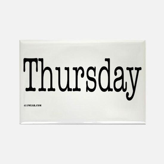 Thursday - On a Rectangle Magnet