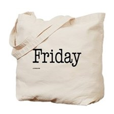Friday - On a Tote Bag