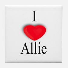 Allie Tile Coaster