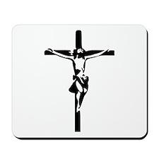 Jesus - Crucifix Mousepad
