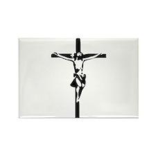 Jesus - Crucifix Rectangle Magnet (10 pack)