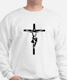 Jesus - Crucifix Sweatshirt
