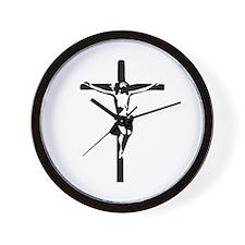 Jesus - Crucifix Wall Clock