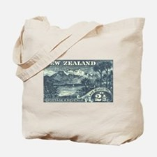 New Zealand Pictorials Tote Bag