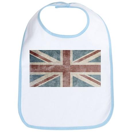 Vintage UK Flag Bib