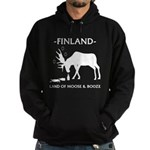 Hoodie (dark) Land of moose and booze