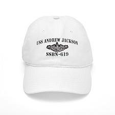 USS ANDREW JACKSON Baseball Cap