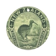 New Zealand Pictorials Ornament (Round)