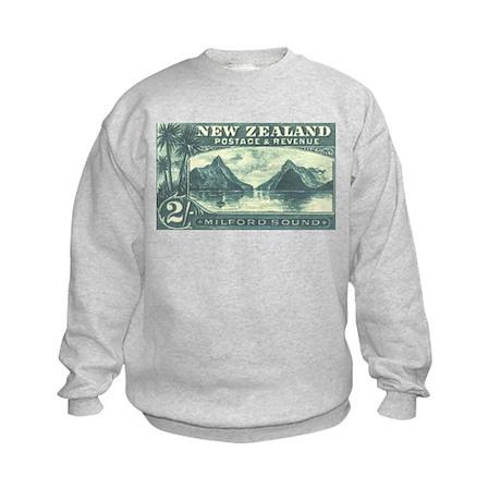 New Zealand Pictorials Kids Sweatshirt