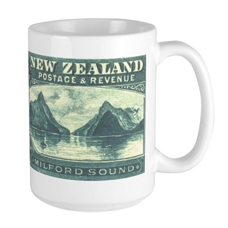 New Zealand Pictorials Large Mug