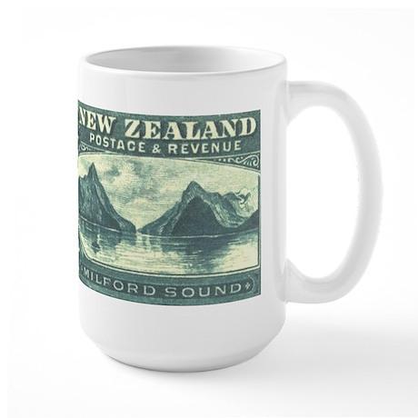 New Zealand Pictorials Large Mug