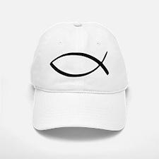 Jesus Fish Baseball Baseball Cap