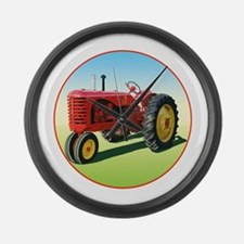 Cool Ferguson tractor Large Wall Clock