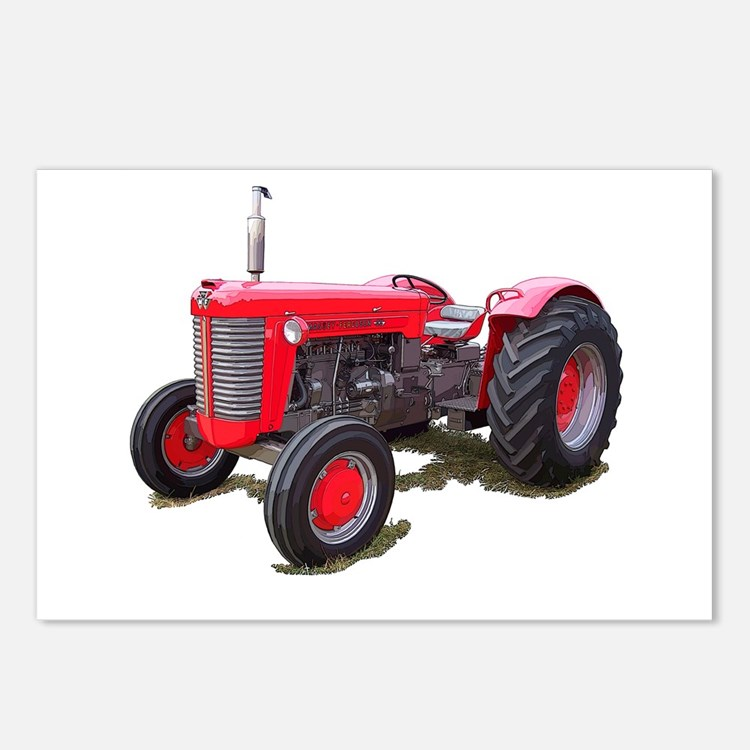 Massey Ferguson Tractor Packages : Massey ferguson tractor postcards