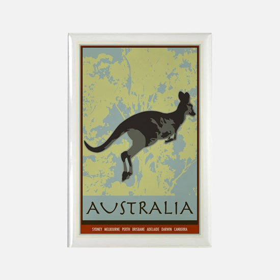 Australia II Rectangle Magnet
