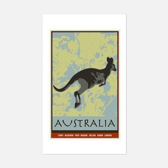 Australia II Rectangle Decal
