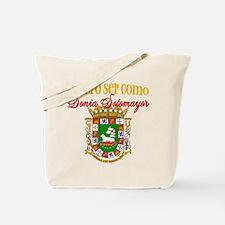 Quiero Ser Como Sonia Sotomayor Tote Bag