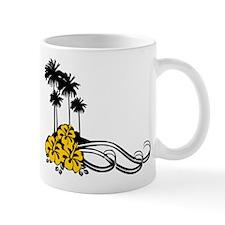 Hibiscus & Palms Mug