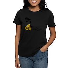 Hibiscus & Palms Tee