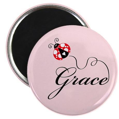 Ladybug Grace Magnet