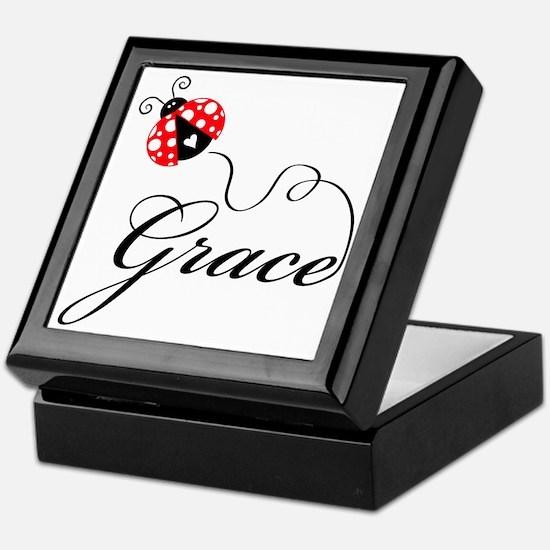 Ladybug Grace Keepsake Box