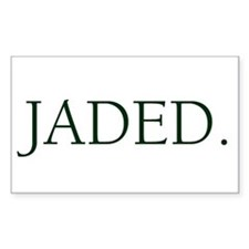 JADED. Rectangle Decal