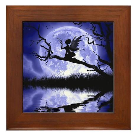 Bella Luna Framed Tile