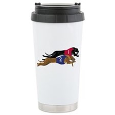 Cute Whippet Travel Mug