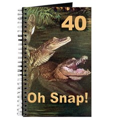 40, Oh Snap Journal