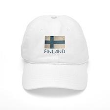 Vintage Finland Baseball Cap