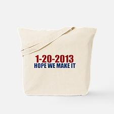 1-20-2013 Hope Tote Bag