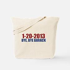 1-20-2013 Bye Barack Tote Bag
