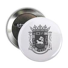"""Puerto Rico Crest 2.25"""" Button"""