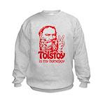 Tolstoy is My Homeboy Kids Sweatshirt