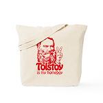Tolstoy is My Homeboy Tote Bag