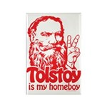 Tolstoy is My Homeboy Rectangle Magnet (100 pack)