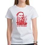 Tolstoy is My Homeboy Women's T-Shirt