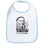 Tolstoy is My Homeboy Bib