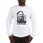 Tolstoy is My Homeboy Long Sleeve T-Shirt