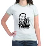 Tolstoy is My Homeboy Jr. Ringer T-Shirt