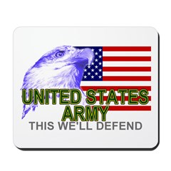 US Army American Eagle Mousepad