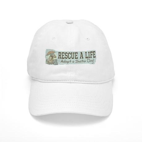 Adopt a Shelter Dog Cap