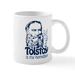 Tolstoy is My Homeboy Mug
