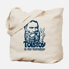 Tolstoy is My Homeboy Tote Bag